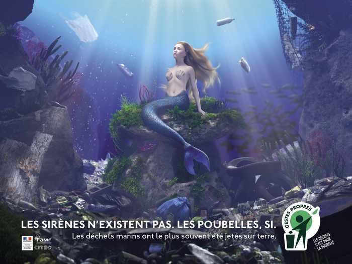 80 % des déchets marins ont été abandonnes sur terre: Gestes Propres