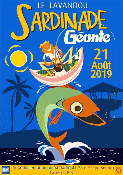 La Sardinade le 21 août